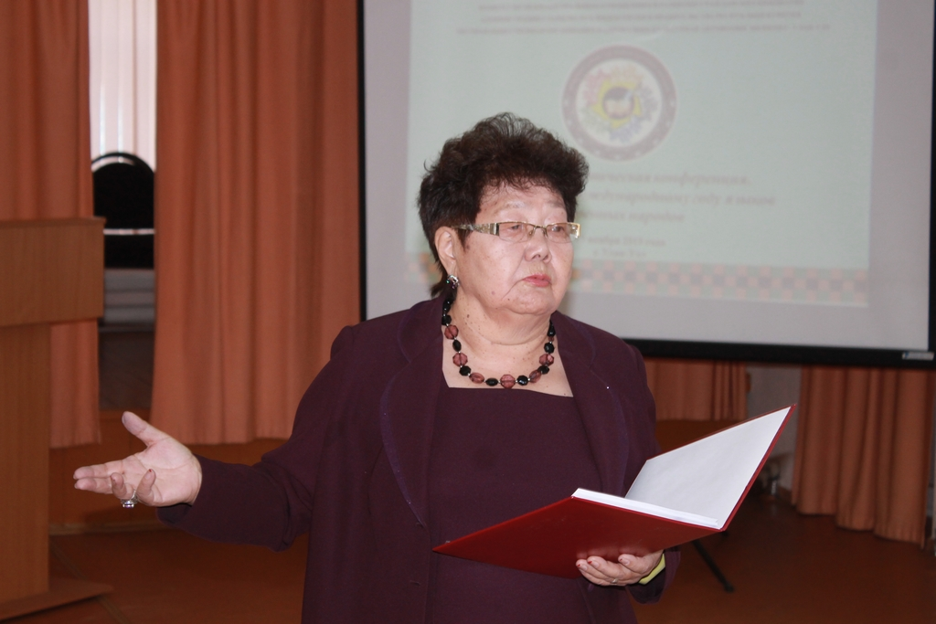 Мария Бадмаева